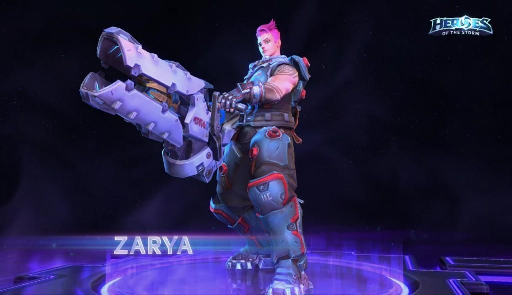 I Zarya stiže u Heroes of the Storm