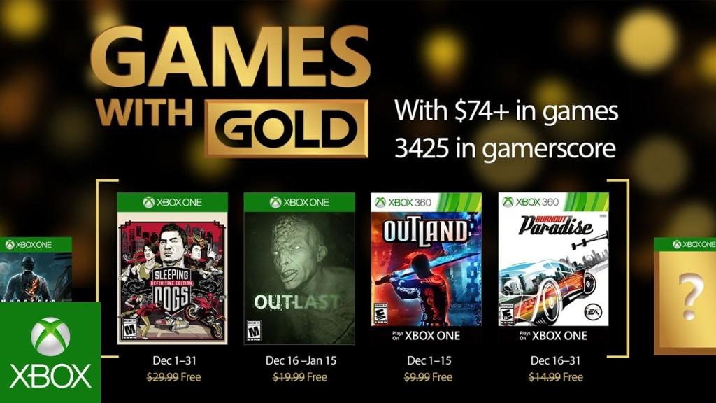 Prosinačku Games With Gold ponudu predvodi Sleeping Dogs
