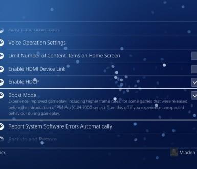 Bolje performanse u starim igrama uz PS4 Pro Boost Mode