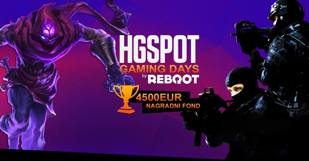 HGSPOT Gaming Days prizepool