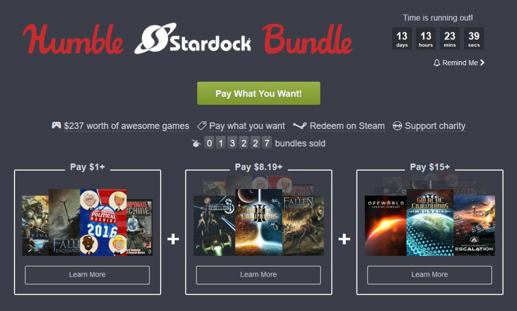 Humble Stardock Bundle