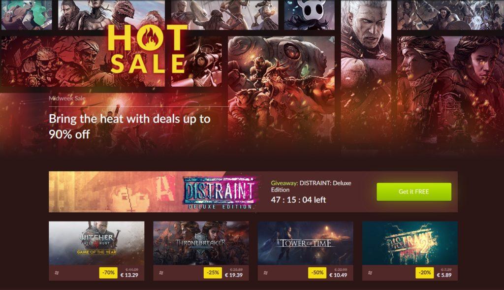 gog hot sale
