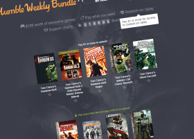 Tjedni Humble Bundle u znaku Tom Clancy igara