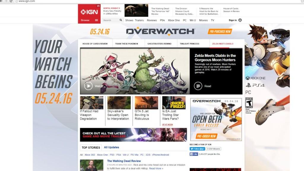 Overwatch datum izlaska