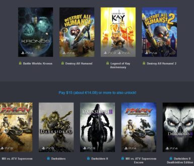 THQ Nordic PlayStation Bundle