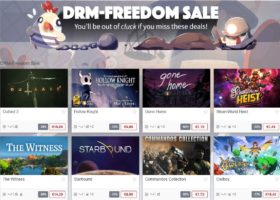 DRM-Freedom Sale