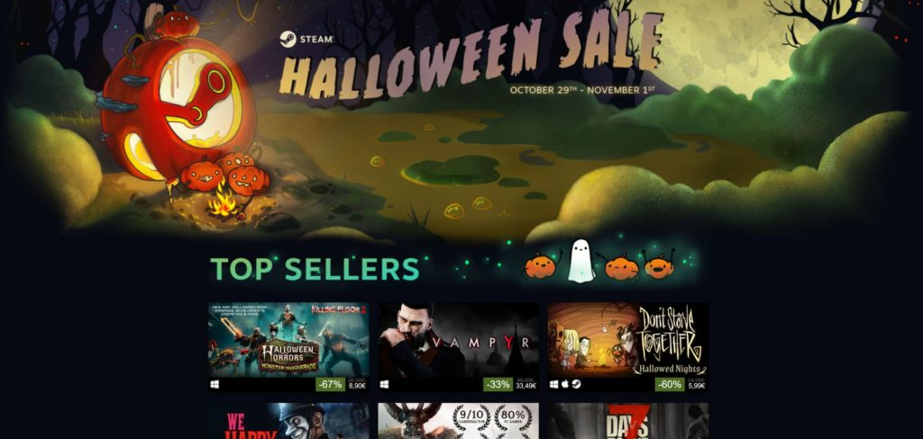 Steam Halloween Sale
