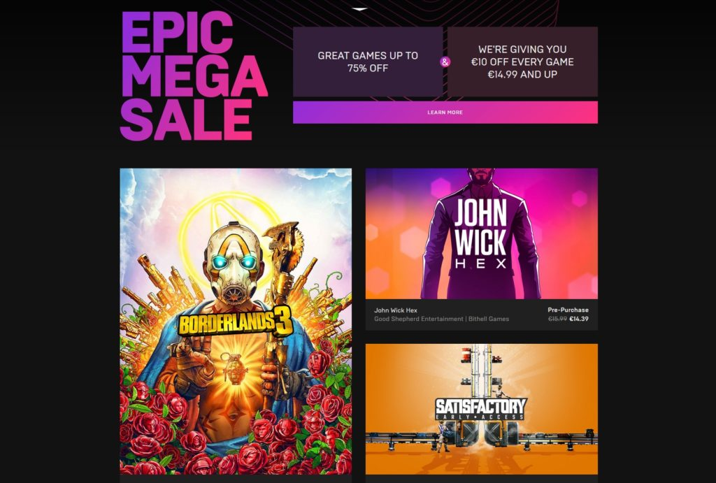 epic games store