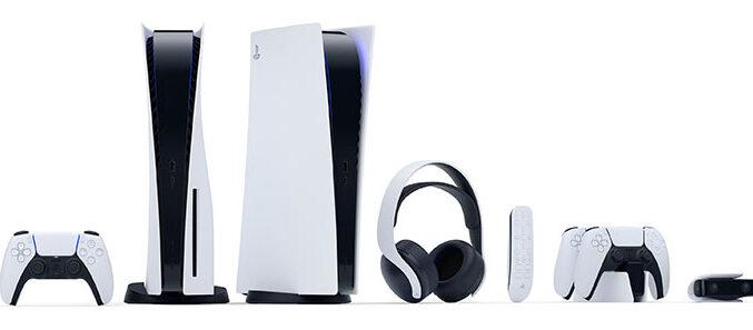 Konzole PlayStation 5 i dodatna oprema.