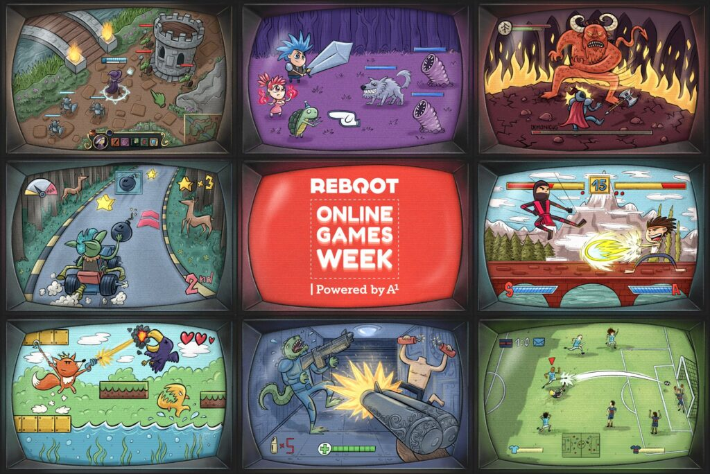Reboot Online Games Week 2021 Spring Edition powered by A1